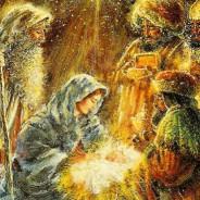 """""""Os pastores encontraram Maria e José e o recém-nascido"""""""