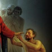 O cego jogou o manto, deu um pulo, e foi até Jesus (Mc 10, 46-52)
