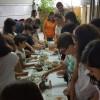Reunião com pais e crianças da Catequese