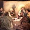 """""""Oito dias depois, Jesus entrou."""""""