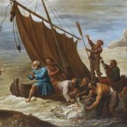 """"""" Jesus aproximou-se, tomou o pão e distribuiu-o a eles. E fez a mesma coisa com o peixe."""""""