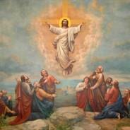 """""""Enquanto os abençoava, afastou-se deles e foi levado para o céu."""""""